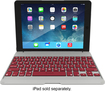ZAGG - ZAGGfolio Keyboard Case for Apple® iPad® Air - Crimson