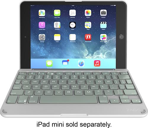 ZAGG - ZAGGfolio Keyboard Case for Apple® iPad® mini - Sage