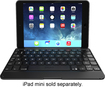 ZAGG - ZAGGfolio Keyboard Case for Apple® iPad® mini - Black