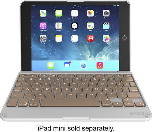 ZAGG - ZAGGfolio Keyboard Case for Apple® iPad® mini - Rose Gold