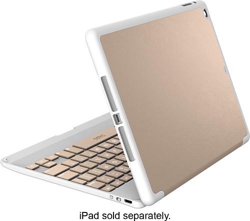ZAGG - ZAGGfolio Keyboard Case for Apple® iPad® Air - Rose Gold