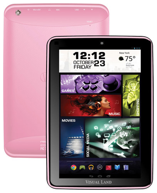 Visual Land - Prestige Elite - 8 - 8GB - Pink