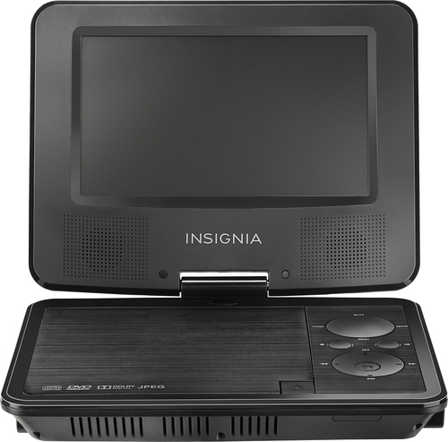 Insignia™ - 7 Portable DVD Player with Swivel Screen