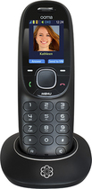 Ooma - Hd2 Dect 6.0 Cordless Phone For Ooma Telo Voip Systems - Black