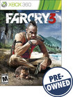 Far Cry 3 — PRE-OWNED - Xbox 360