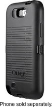 OtterBox - Defender Series Case for Samsung Galaxy Note II Cell Phones - Black