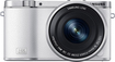 Samsung - NX3000 Mirrorless Camera with NX 16-50mm Power Zoom Lens - White