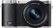 Samsung - NX3000 Digital Compact System Camera with NX 16-50mm Power Zoom Lens - Black