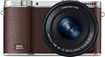 Samsung - NX3000 Digital Compact System Camera with NX 16-50mm Power Zoom Lens - Brown