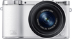 Samsung - Nx3000 Digital Compact System Camera With 20-50mm Zoom Lens - White