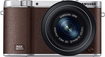 Samsung - NX3000 Mirrorless Camera with 20-50mm Zoom Lens - Brown