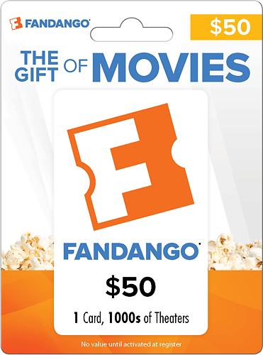 Fandango - $50 Gift Card