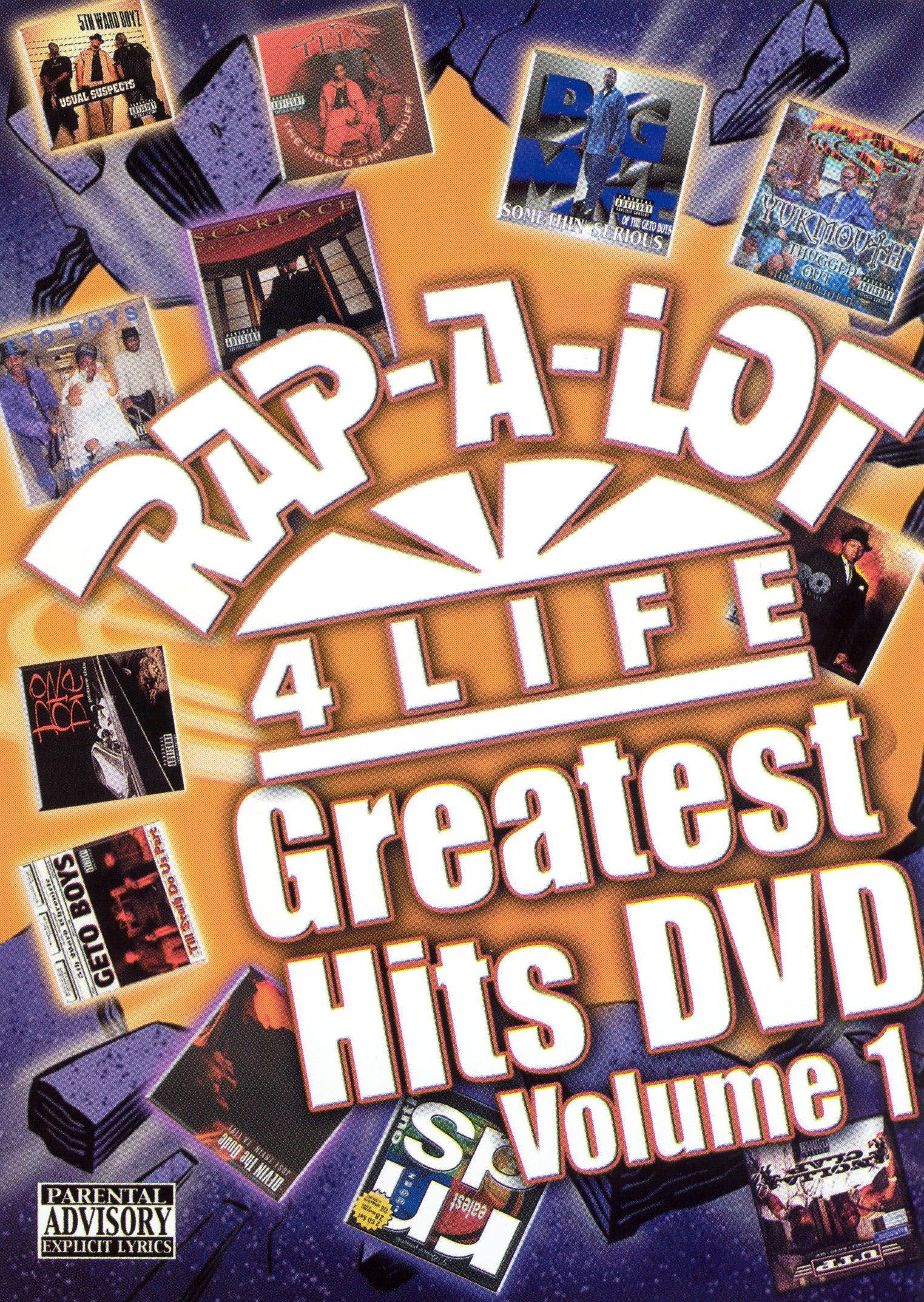 Rap-a-lot Greatest Hits Dvd, Vol. 1 7290656