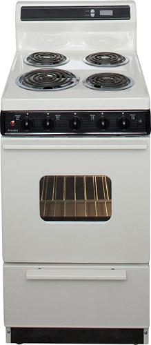 """Premier - 20"""" Freestanding Electric Range - Biscuit"""