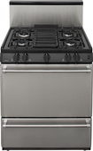 "Premier - 30"" Freestanding Gas Range - Stainless-Steel"