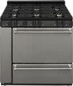 "Premier - 36"" Freestanding Gas Range - Stainless-Steel"