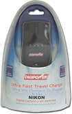 DigiPower - World Travel Charger for Select Nikon Digital Camera Batteries