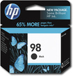 HP - 98 Black Original Ink Cartridge - Black