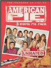 American Pie: 3 Movie Pie Pack [Unrated] [3 Discs] (DVD) (Unrated) (Enhanced Widescreen for 16x9 TV) (Eng/Fre/Spa)