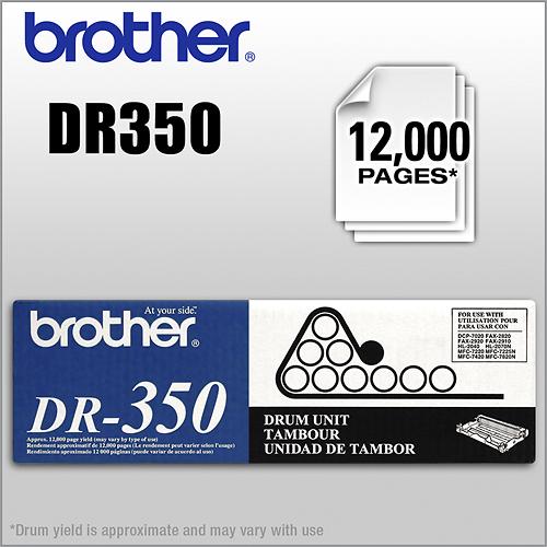 Brother - DR350 Drum Unit - Black