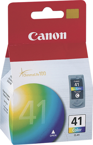Canon - 41 Ink Cartridge - Cyan, Magenta, Yellow