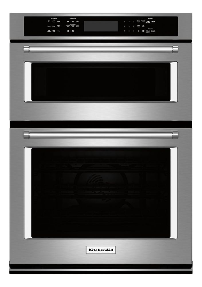 Kitchenaid 30 Quot Single Electric Convection Wall Oven With