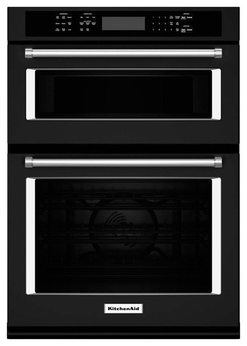 Kitchenaid 27 Single Electric Convection Wall Oven With Built In