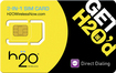 H2O Wireless - Dual SIM Card - Yellow