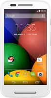 Motorola - Moto E Cell Phone (Unlocked) - White
