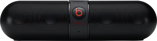 Beats by Dr. Dre - Geek Squad Certified Refurbished Beats Pill 2.0 Portable Bluetooth Speaker - Black
