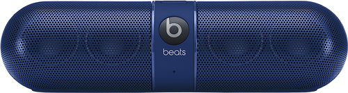 Beats by Dr. Dre - Geek Squad Certified Refurbished Beats Pill 2.0 Portable Stereo Speaker - Blue