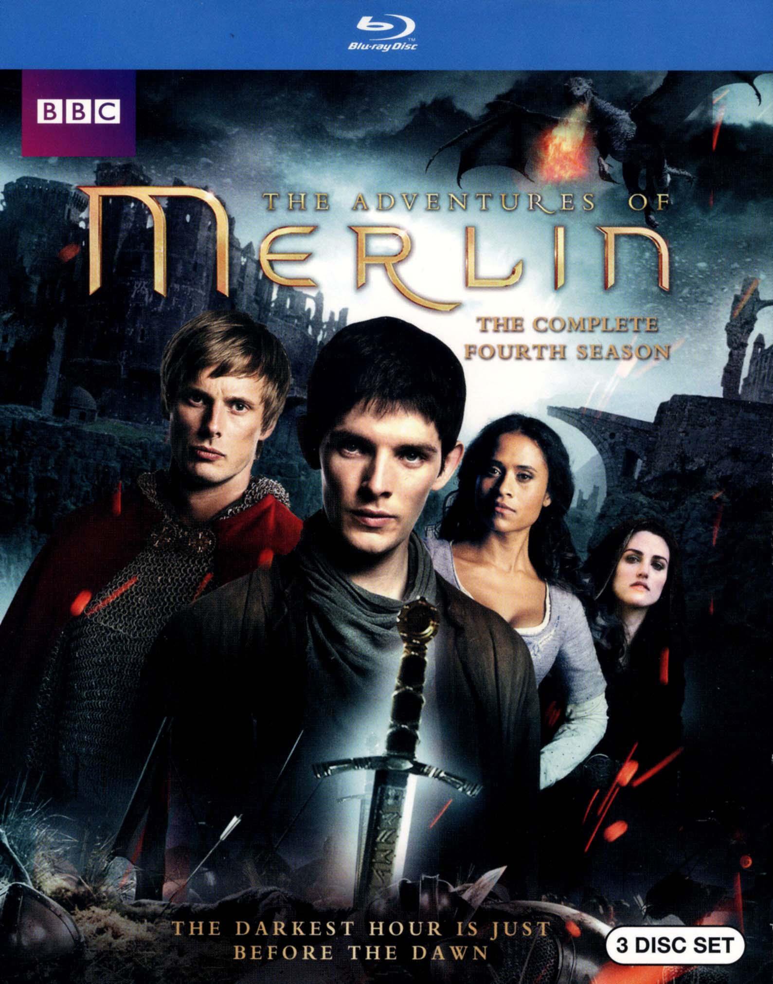 Merlin: The Complete Fourth Season [3 Discs] [blu-ray] 7344375