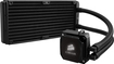 Corsair - Hydro Series H100i Dual 120mm Fan CPU Cooler - Black
