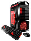 iBUYPOWER - Desktop - Intel Core i5 - 8GB Memory - 1TB Hard Drive - Black/Red