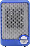 Insignia™ - Desktop Ceramic Heater - Blue/Black/Gray