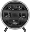 Insignia™ - Portable Wire Heater - Black/Gray