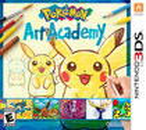 Pokémon Art Academy - Nintendo 3DS
