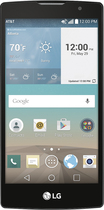 LG - Escape 2 4G with 16GB Memory Cell Phone - Black (AT&T)