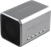 RockDoc - Pitbull BLUETOOTH Portable 2-Way Speaker For Most Bluetooth-Enabled Devices - Silver