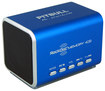 RockDoc - Pitbull BOOM Portable 2-Way Speaker with 4GB Memory - Blue
