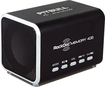 RockDoc - Pitbull BOOM Portable 2-Way Speaker with 4GB Memory - Black
