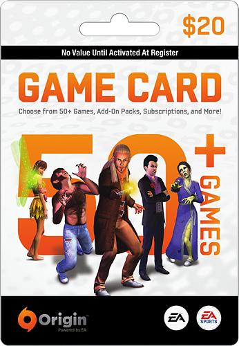EA - EA Origin Wallet Card ($20) - Multicolor