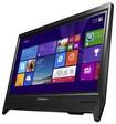 "Lenovo - 19.5"" Touch-Screen All-In-One - Intel Pentium - 4GB Memory - 500GB Hard Drive - Black"