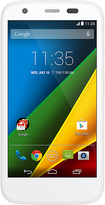 Motorola - Moto G 4G LTE Cell Phone (Unlocked) (U.S. Version) - White