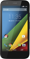 Motorola - Moto G 4G LTE Cell Phone (Unlocked) (U.S. Version) - Black