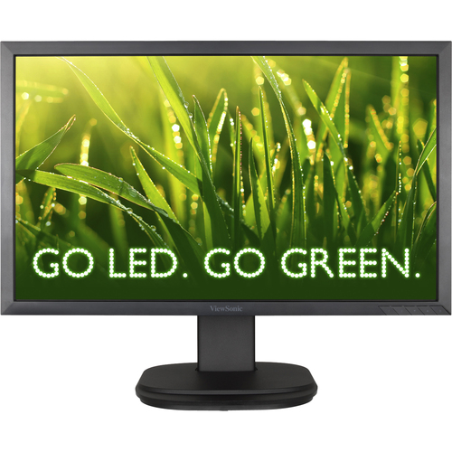 "ViewSonic - 24"" Full HD 1080p LED Display Revolutionized Design Ergonomics"
