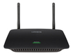 Linksys - Wireless-AC Wi-Fi Range Extender with 4-Port Gigabit Ethernet Switch - Black