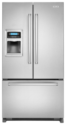 KitchenAid - 19.7 Cu. Ft. French Door Refrigerator - Stainless Steel