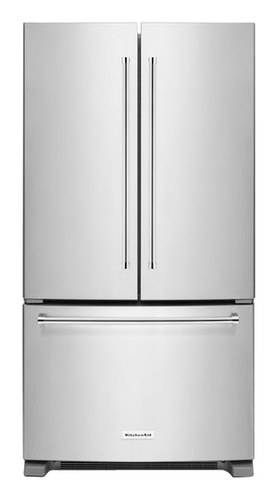 KitchenAid - 25.2 Cu. Ft. French Door Refrigerator - Stainless Steel