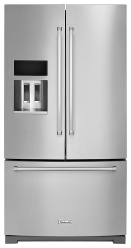 KitchenAid - 26.8 Cu. Ft. French Door Refrigerator - Stainless Steel